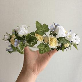 バラの花冠の写真