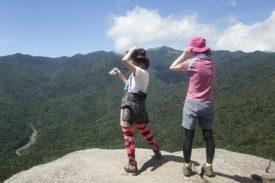 絶景の太鼓岩の写真