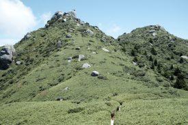 翁岳分岐の写真