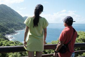 見所がたくさんな島の写真