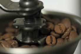 朝のコーヒーの写真