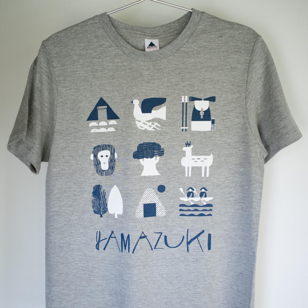 山好きTシャツ(グレー)