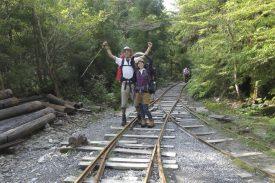 荒川登山口へ到着!の写真