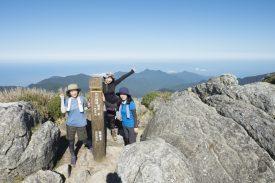 宮之浦岳山頂に到着!の写真
