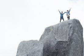 黒味岳山頂!の写真